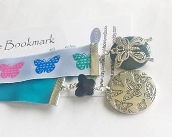 Butterfly ribbon bookmark