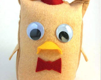 Doctor Who Doctor Hoot Owl Stuffie Plush Doll - Eleven Matt Smith