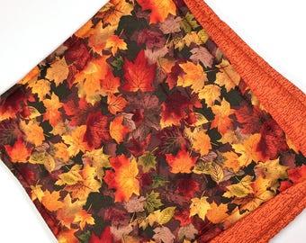 Set of 2 Autumn Leaves Potholders, Autumn Leaves Decor, Autumn Hot Pads, Fall Kitchen Decor, Fall Pot Holders, Fabric Pot Holder