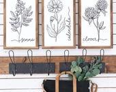 NEW (white) V+B spring collection botanical set