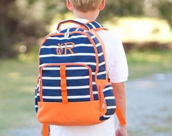 Line Up Boys Monogrammed Backpack, Boys Book Bag, Personalized Backpack, Personalized Backpack, Kids Backpacks, Back to School
