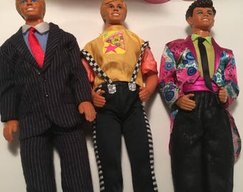 Ken Doll Cool Times Lot