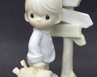 """Precious Moments """"Jesus is the Only Way"""" Figurine"""