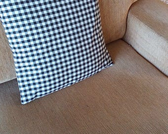 Gingham Pillow Covers - Colored Checked Cushion Covers - Plaid Cushion Covers - Throw Pillow Covers - Country Cushion Covers - Set of 2