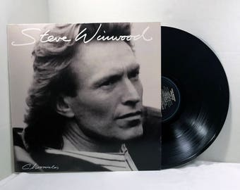 Steve Winwood Chronicles vinyl record 1987 VG+ Pop Rock