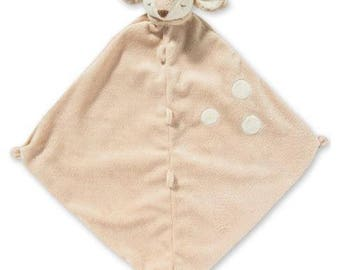 Monogrammed Fawn Lovie / Angel Dear / Personalized Blankie / Security Blanket / Baby Blankie Gift