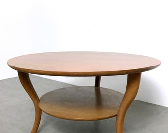 Robsjohn Gibbings Saber Leg Coffee Table 1950's
