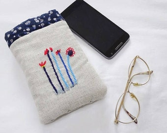 Case cell phone, glasses - Glasses case, Cell phone case, O17 pouch