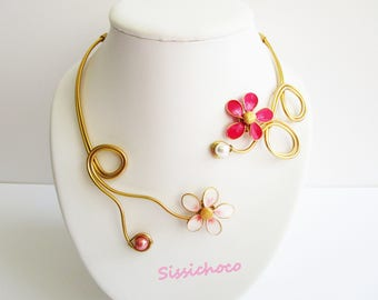 Necklace fleurette (creator)