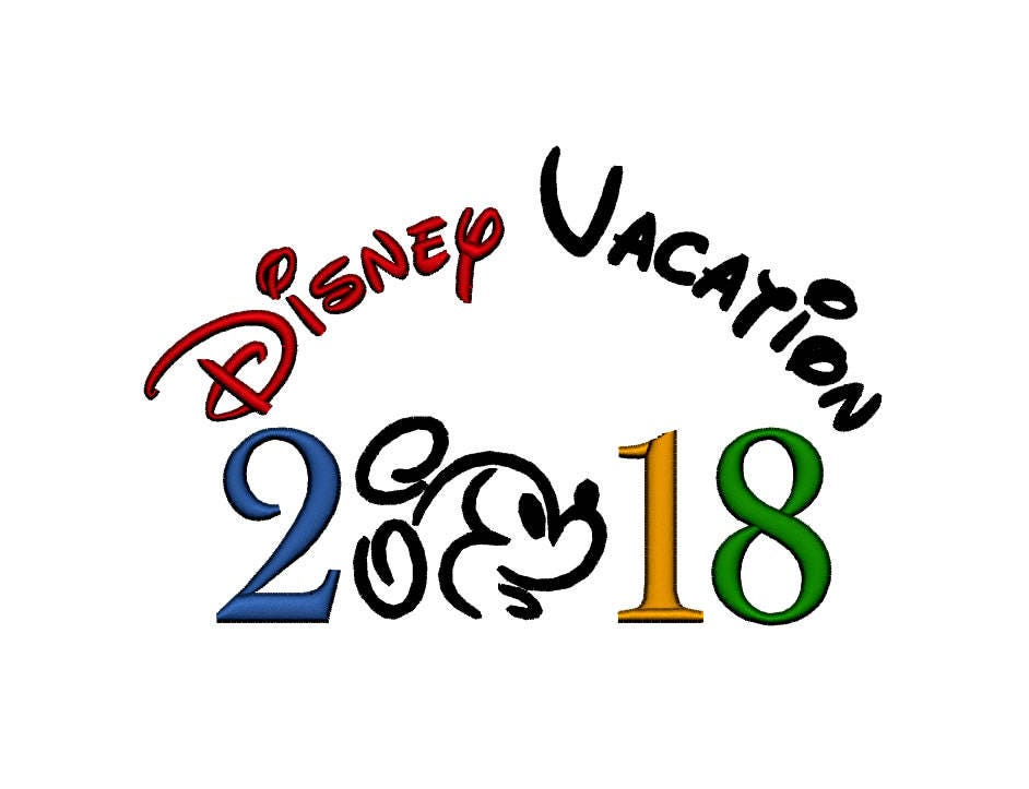 disney vacation mickey 2018 instant download machine