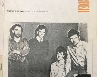 Joy Division New Order : A History in Cuttings 160 Pages of VITAL Information VINTAGE Clippings