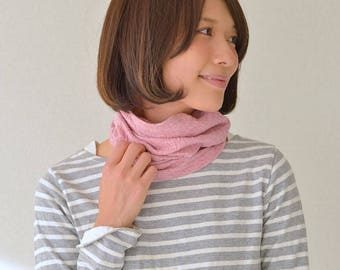 Organic Headband Neck Warmer 100% Cotton Hair Band Accessory MADE In JAPAN Head Band Sensitive Skin All Season Breathable Unisex th-oln