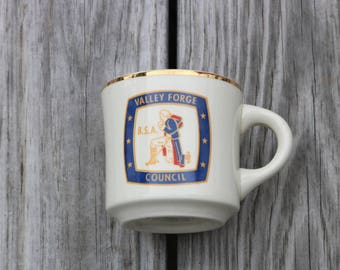 Boy Scout Coffee cup from Valley Forge Council BSA Boy Scouts Of America coffee mug