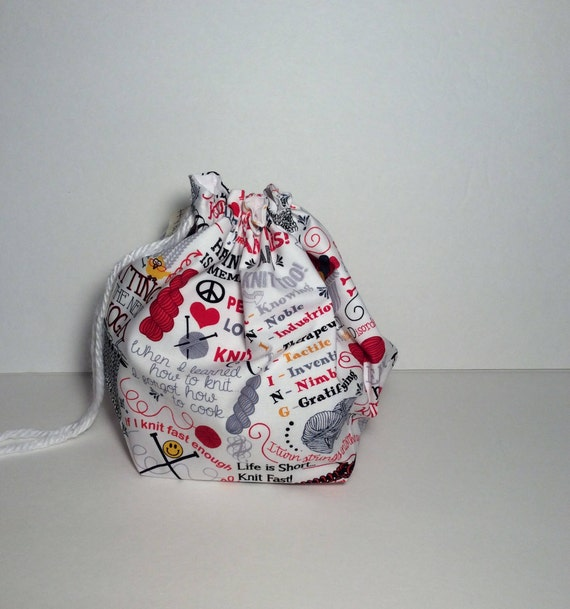 Drawstring Project Bag