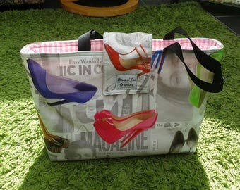 Shoe print Tote Bag