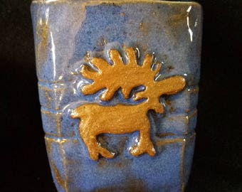 Pottery Moose Cup 5