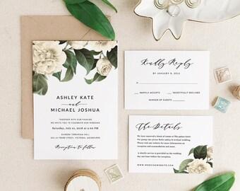 Wedding Invitations Template Printable Wedding Invitation
