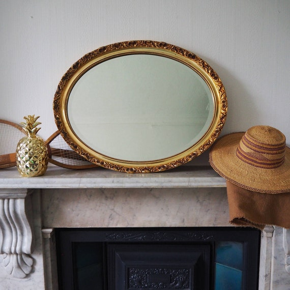 Gold Frame Mirror