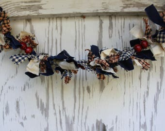 Cranberry country garland