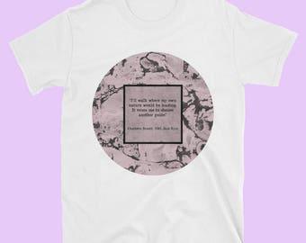 Jane Eyre Shirt, Charlotte Bronte,