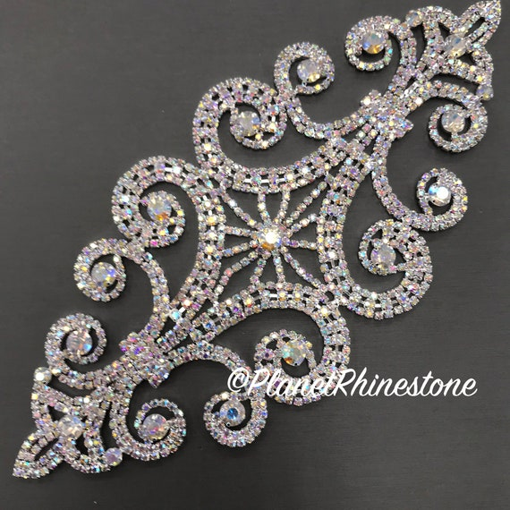 AB Rhinestone Applique #A-05