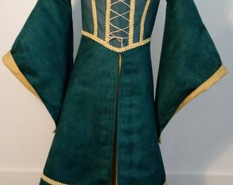Princess Merida Brave Rebelle Medieval Dress size 116 (EU)