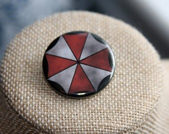 Resident Evil Umbrella Corporation Button