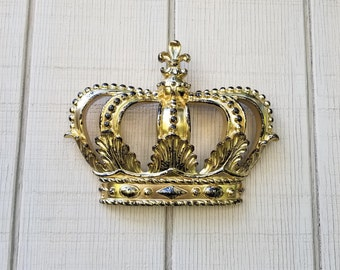 Gold Crown Wall Decor Nursery Wall Decor Crib Crown Canopy Wall Decor  Ornate Crown Gold Fleur Part 78
