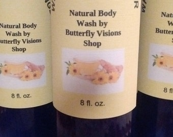 White Tea and Ginger Natural Body Wash-