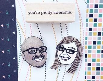 Custom Face Magnet, Anniversary Gift for Boyfriend, Gift for Boyfriend, Birthday Gift for Boyfriend, Gift for Husband, Anniversary Gift Men