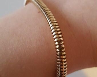 Golden bracelet (20cm)