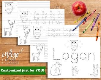 Coloring Pages | Homeschool Worksheet | Alphabet Worksheet | School Printable | Handwriting Worksheet DIGITAL | Preschool Worksheet