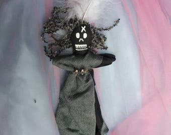Voodoo Doll Authentic New Handmade New Orleans Vodou Transfiguation, grief, strife, removal of bad habits, Poppet Vodou Original
