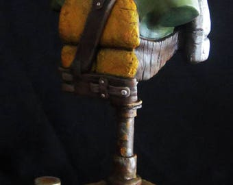 Turtles Statue Bust Foot Stinks TMNT Handmade / Custom Scenery