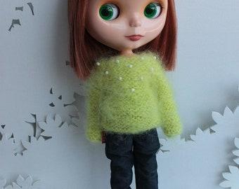 Blythe mohair sweater long sleeve