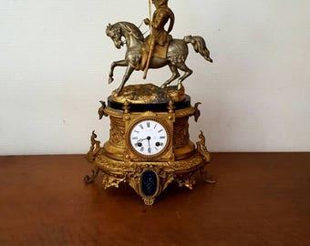 Large pendulum nineteenth century representing Henri IV