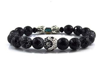 Yin Yang bracelet,jewellery,Beaded bracelets,Healing bracelet,Gemstone bracelet,Beaded jewelry,Stone bracelet,Bracelets