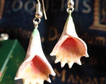 Hanging Flower Earrings