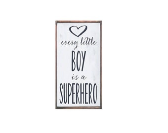 Every little boy is a Superhero