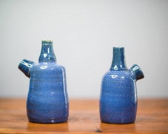 Cobalt Blue Bottle Set