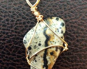 Rattlesnake Agate pendant