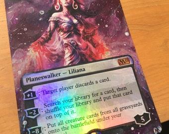 Liliana Vess Foil Magic Alter