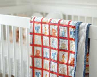 Animal House Baby Quilt