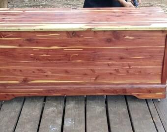 Fully Restored Antique Cedar Hope Chest/Blanket Box