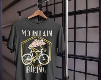 Mountain Biking Pun T-Shirt