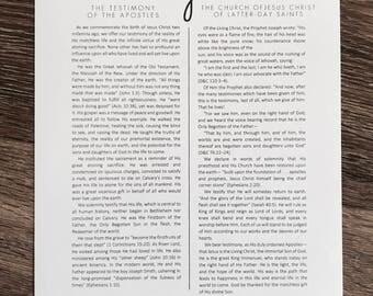 The Living Christ Print