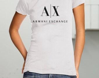 Armani Exchange New Women's T-Shirt Tee Perfect Gift