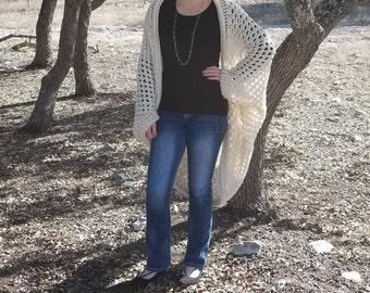 Cocoon Cardigan // Blanket Sweater // Cocoon Sweater // Blanket Sweater // Crochet Sweater // Crochet Cardigan // Crochet Coccon