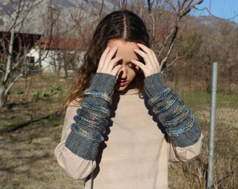 Arm Warmers,Knitted Arm Warmers