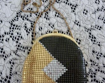 Vintage Metallic Clutch Purse